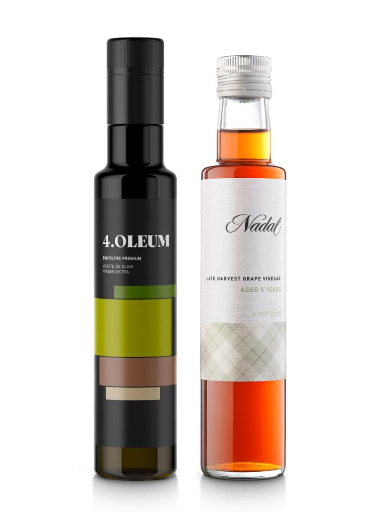 4.Oleum Aceite de Oliva Virgen Extra y Vinagre de Verema tardía